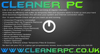 Photo by Cleaner Pc / Computer Repairs / Remote Assistance