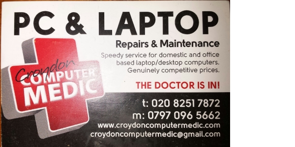 Photo by Croydon Computer Medic