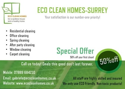 Photo by Eco Clean Homes-Surrey