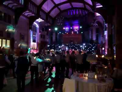 Photo by Edensound Lake District wedding Disco