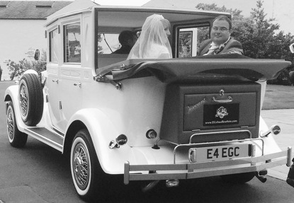 Photo by EG Chauffeur & wedding Car Hire