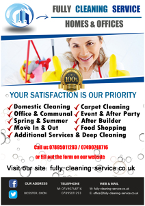 Photo by Fully Cleaning Service: Homes & Offices