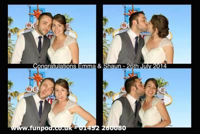 Photo by Fun Pod Photobooths