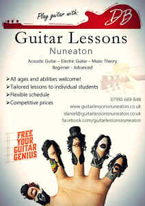 Photo by Guitar Lessons Nuneaton