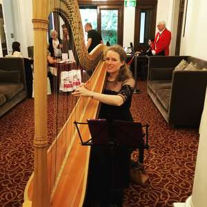 Photo by Harriet Adie  - Harpist