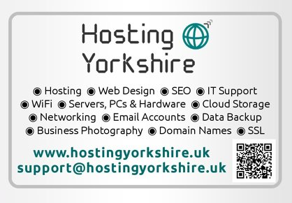 Photo by Simulant Systems Ltd T/A Hosting Yorkshire