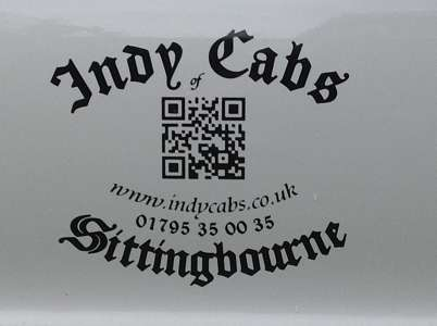 Photo by Indy Cabs of Sittingbourne