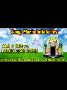 Photo by Jump mania inflatables.