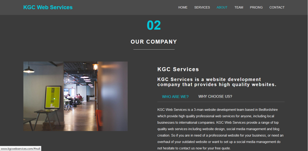Photo by KGC Web Services