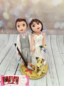 Photo by Lucy's cake toppers