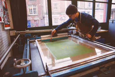 Photo by Mark My Words Screen Printing