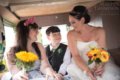 Photo by Martyn Thompson Wedding Photography