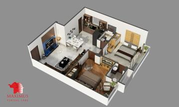 Photo by Maximus 3D Floor Plan Design