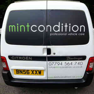 Photo by mint condition professional vehicle care