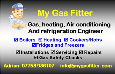 Photo by my gas fitter