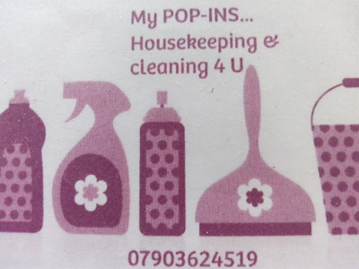 Photo by MY POP-INS... housecleaning  services 4U WIRRAL