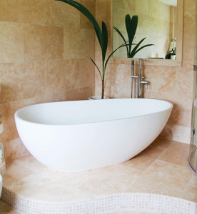 Photo by NATURAL STONE BATHROOMS LTD