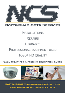 Photo by Nottingham CCTV Services