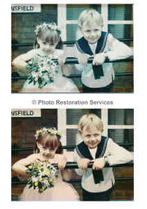 Photo by Photo Restoration Services