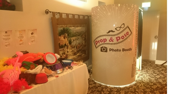 Photo by Prop & Pose Photo Booths