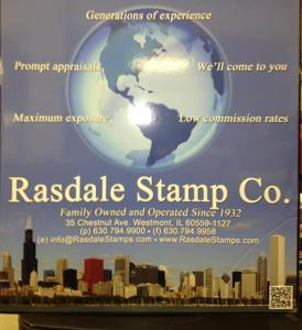 Photo by Rasdale Stamp Company