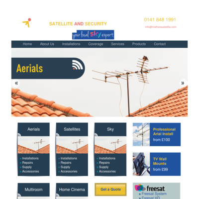 Mathers Satellite & Security Ltd
