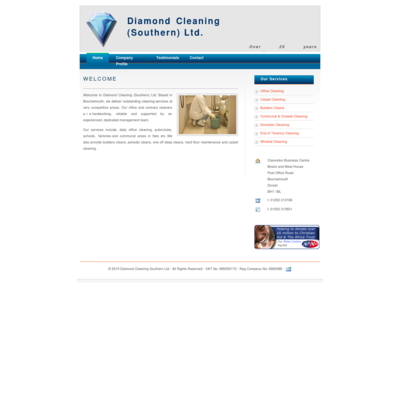 Diamond Cleaning Southern Limited