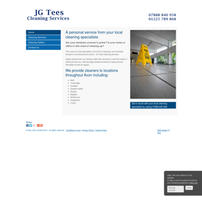 Jgtees cleaning services