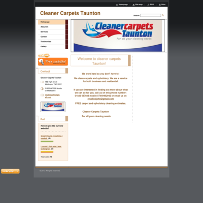 Cleaner carpets Taunton