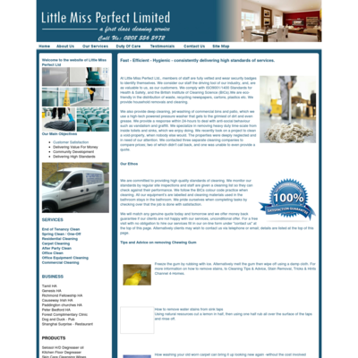 Little Miss Perfect Ltd.