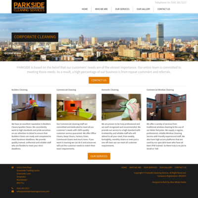 Parkside Cleaning Services Ltd