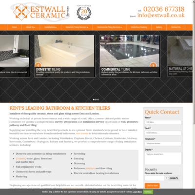 Estwall ceramic services