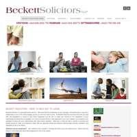 Beckett Solicitors LLP logo