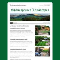 SHAKESPEARES LANDSCAPES LTD