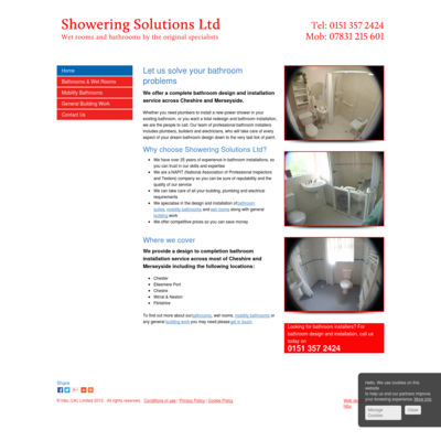 Showering Solutions Ltd