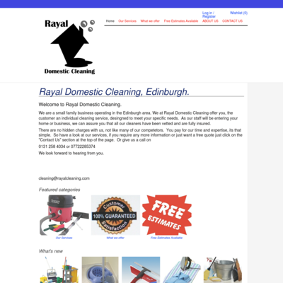 Rayal Domestic Cleaning