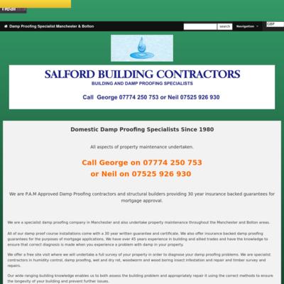 Salford Building Contractors