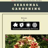 Seasonal Gardening Services