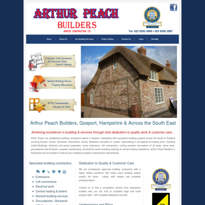Arthur Peach Builders (Breeze Construction Limited)
