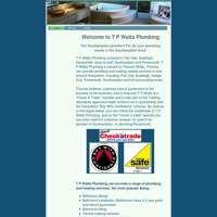 T p watts plumbing services ltd.