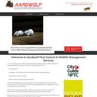 Aardwolf Pest Control