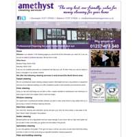 Amethyst cleaning services