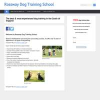 Rossway Dog Training