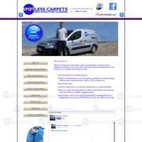 Spotless carpet cleaning