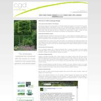cgd landscape design ltd