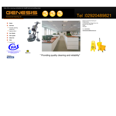 genesis commercial ind cleaning ltd