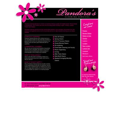 Pandora station cleaning