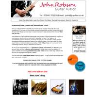 John Robson Guitar Tuition