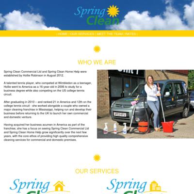 Spring Clean Home Help