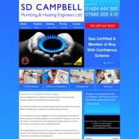 S D Campbell plumbing and heating